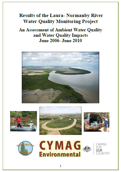 Results of Laura-Normanby Water Quality Monitoring