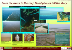 From the rivers to the reef: Flood plumes tell the story