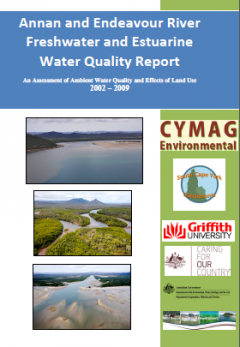 Annan and Endeavour River Freshwater and Estuarine Water Quality Report