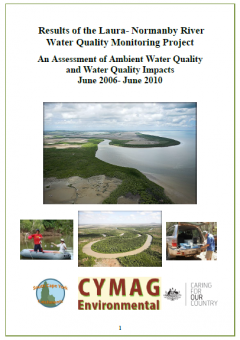 Results of the Laura-Normanby River Water Quality Monitoring Project